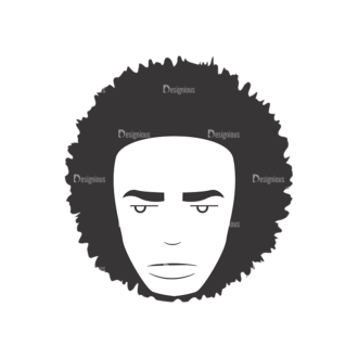 Funky Faces Pack 13 Preview Clip Art - SVG & PNG vector