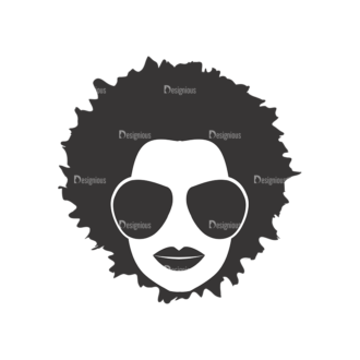 Funky Faces Pack 7 Preview Clip Art - SVG & PNG vector