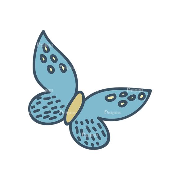 Garden Vector Set 2 Vector Butterfly 07 5