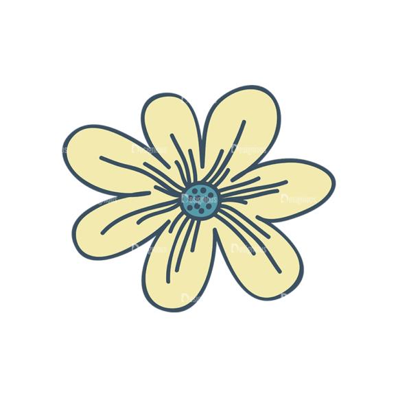 Garden Vector Set 2 Vector Flower 19 Clip Art - SVG & PNG vector