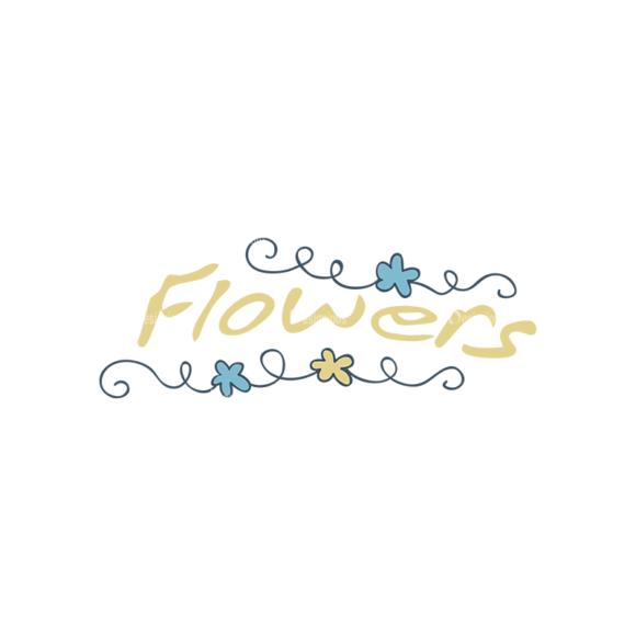 Garden Vector Set 2 Vector Flowers 10 Clip Art - SVG & PNG vector