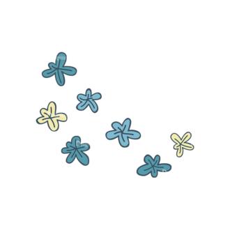Garden Vector Set 2 Vector Flowers 20 Clip Art - SVG & PNG vector