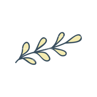 Garden Vector Set 2 Vector Leaves 16 Clip Art - SVG & PNG vector