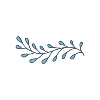 Garden Vector Set 2 Vector Leaves 18 Clip Art - SVG & PNG vector