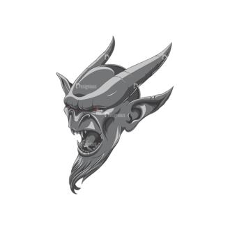 Gargoyle Vector 1 1 Clip Art - SVG & PNG vector