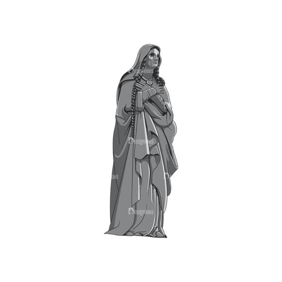 Gothic Vector 3 5 Clip Art - SVG & PNG vector