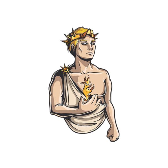 Greek Mythological Other God Vector 2 1 Clip Art - SVG & PNG vector