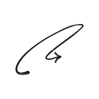 Hand Drawn Elements Vector Large Arrow 16 Clip Art - SVG & PNG vector
