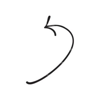 Hand Drawn Elements Vector Large Arrow 29 Clip Art - SVG & PNG vector