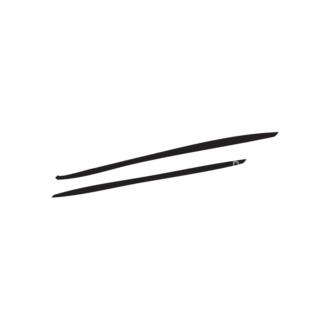 Hand Drawn Elements Vector Large Underlines 05 Clip Art - SVG & PNG vector
