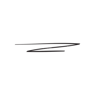 Hand Drawn Elements Vector Large Underlines 10 Clip Art - SVG & PNG vector