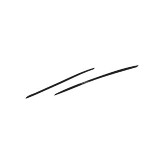 Hand Drawn Elements Vector Large Underlines 16 Clip Art - SVG & PNG vector