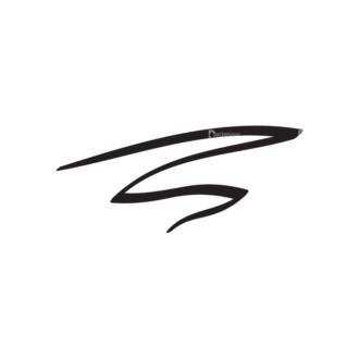 Hand Drawn Elements Vector Large Underlines 17 Clip Art - SVG & PNG vector
