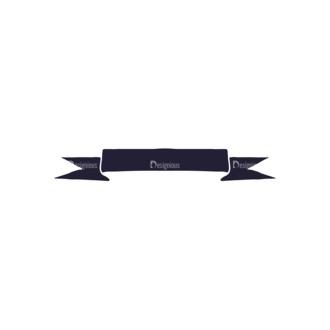 Hand Drawn Ribbons Vector Set 2 Ribbon 05 Clip Art - SVG & PNG vector