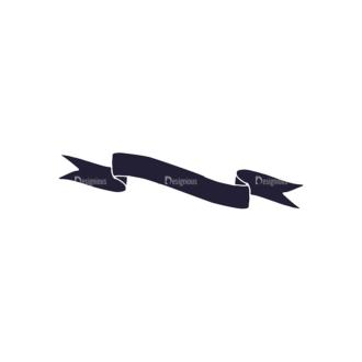 Hand Drawn Ribbons Vector Set 2 Ribbon 07 Clip Art - SVG & PNG vector