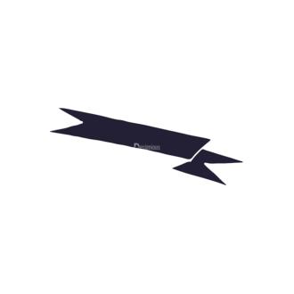 Hand Drawn Ribbons Vector Set 2 Ribbon 08 Clip Art - SVG & PNG vector