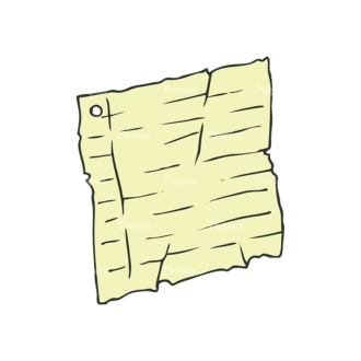 Hand Drawn School Vector Set 1 Vector Paper Clip Art - SVG & PNG vector