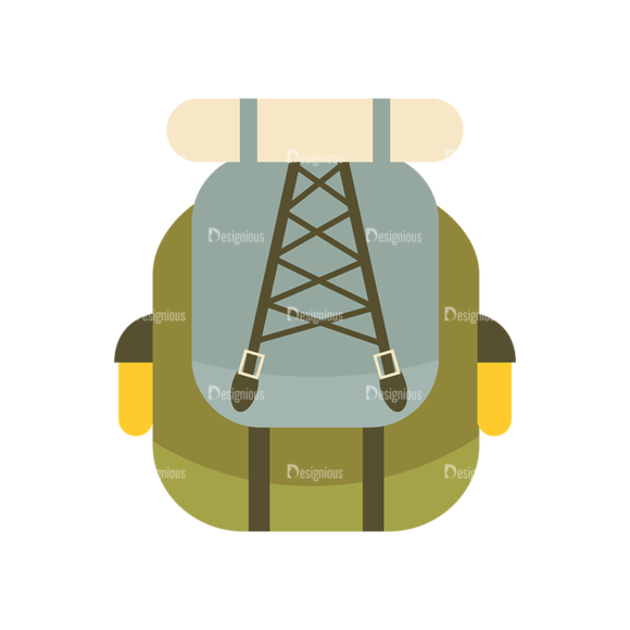 Hiking Equipment Vector Infographics Vector Bagpack hiking equipment vector infographics vector bagpack