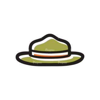 Hiking Vector Set 11 Vector Hat Clip Art - SVG & PNG vector