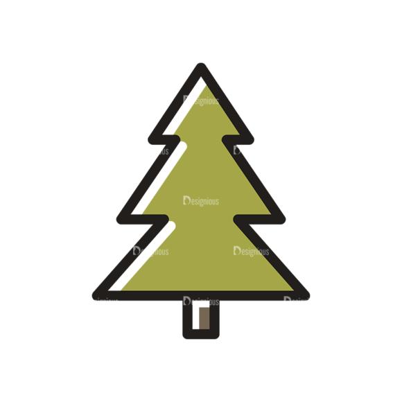 Hiking Vector Set 11 Vector Tree Clip Art - SVG & PNG tree