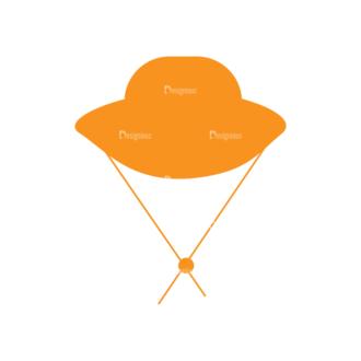 Hiking Vector Set 9 Vector Hat Clip Art - SVG & PNG vector