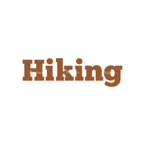Hiking Vector Set 9 Vector Hiking Clip Art - SVG & PNG vector