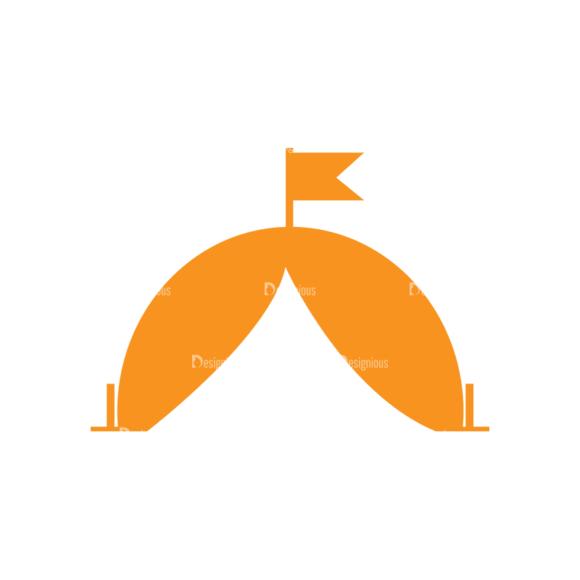 Hiking Vector Set 9 Vector Tent 08 Clip Art - SVG & PNG vector