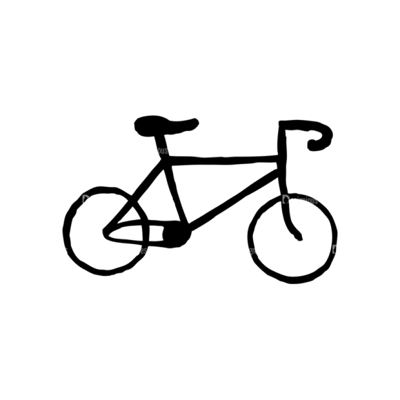 Hipster Apparel And Gadgets Set 10 Vector Bike hipster apparel and gadgets set 10 vector bike
