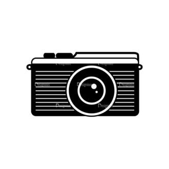 Hipster Vector Set 1 Vector Camera 37 Clip Art - SVG & PNG vector