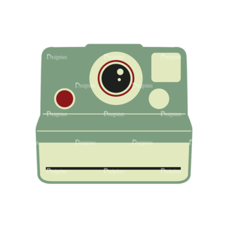Hipster Vector Set 1 Vector Camera 40 Clip Art - SVG & PNG vector