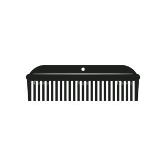Hipster Vector Set 1 Vector Comb 04 Clip Art - SVG & PNG vector
