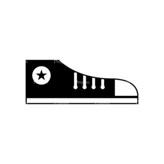 Hipster Vector Set 1 Vector Rubber Shoes 19 Clip Art - SVG & PNG vector