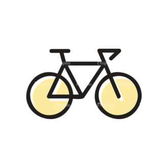 Hobbies Icons Vector Set 1 Vector Bike Clip Art - SVG & PNG vector