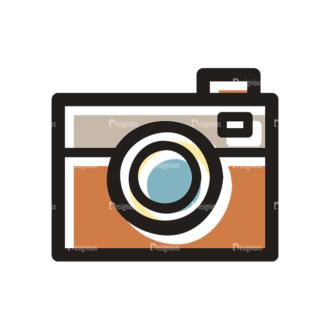 Hobbies Icons Vector Set 1 Vector Camera Clip Art - SVG & PNG vector