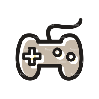 Hobbies Icons Vector Set 1 Vector Controller Clip Art - SVG & PNG vector
