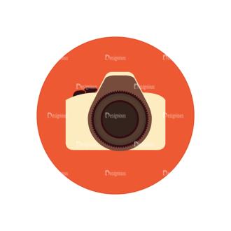 Hobbies Icons Vector Set 2 Vector Camera Clip Art - SVG & PNG vector