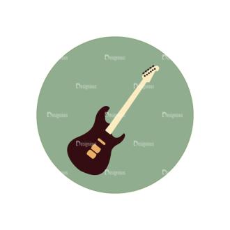 Hobbies Icons Vector Set 2 Vector Guitar Clip Art - SVG & PNG vector