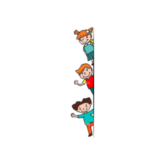 Kids School Vector Set 1 Vector Kids 09 Clip Art - SVG & PNG vector