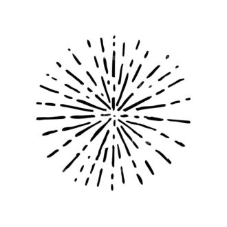 Light Burst Rays Set 24 Rays 02 Clip Art - SVG & PNG vector
