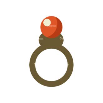 Love Vector Set 6 Vector Ring 08 Clip Art - SVG & PNG vector