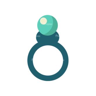 Love Vector Set 6 Vector Ring 09 Clip Art - SVG & PNG vector