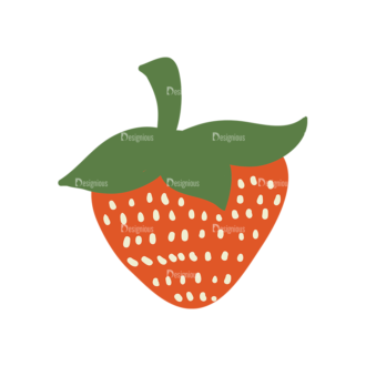 Love Vector Set 6 Vector Strawberry 51 Clip Art - SVG & PNG vector