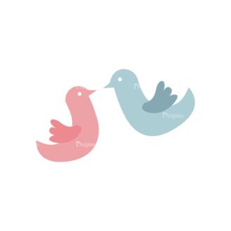 Love Vector Set 7 Vector 1 Birds Clip Art - SVG & PNG vector