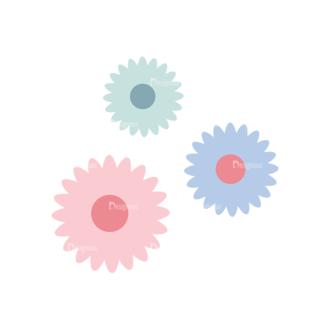 Love Vector Set 7 Vector 1 Flowers Clip Art - SVG & PNG vector