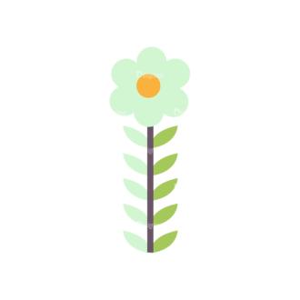 Love Vector Set 7 Vector Flower 18 Clip Art - SVG & PNG vector