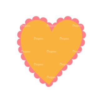Love Vector Set 7 Vector Heart 09 Clip Art - SVG & PNG vector