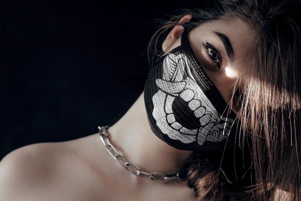 18 Face Masks Vector Pack 3