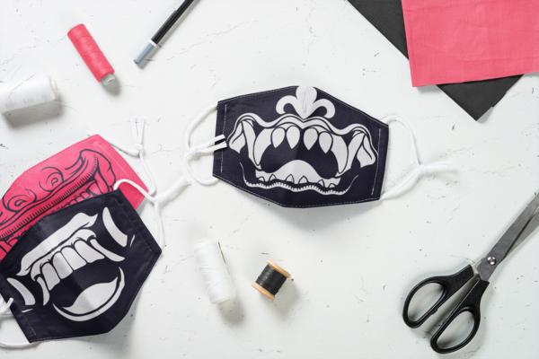 18 Face Masks Vector Pack 47