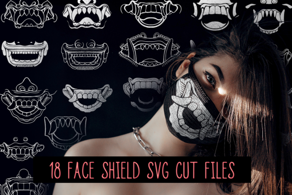 18 Face Masks Vector Pack Vector packs vector