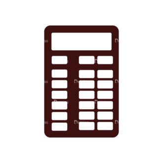 Money Vector Elements Set 1 Vector Calculator Clip Art - SVG & PNG vector